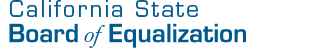 Board of Equalization, State of California