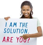 I am the solution...are you?