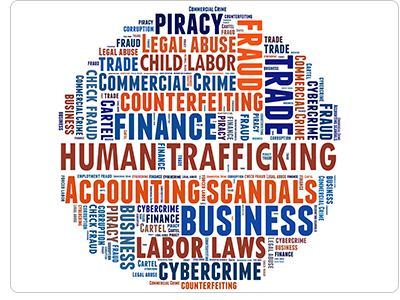 Underground Economy, Human Trafficking, Counterfeiting, Piracy